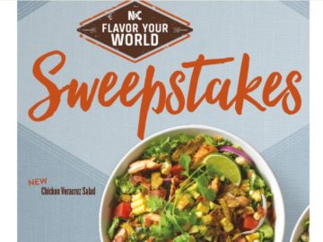 The Noodle & Company Flavor Your World Sweepstakes