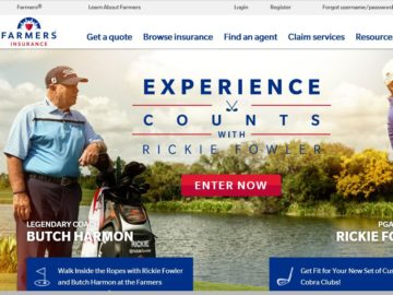 The Farmer's Insurance Experience Counts Sweepstakes