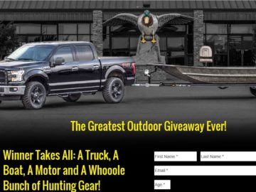 The Greatest Outdoor Giveaway Ever Sweepstakes