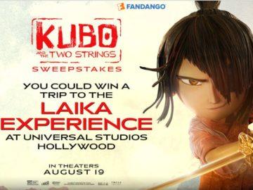 The Fandango Kubo and the Two Strings FanAlert Sweepstakes