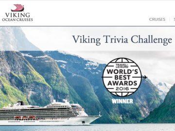 Viking River Cruises Trivia Challenge Sweepstakes