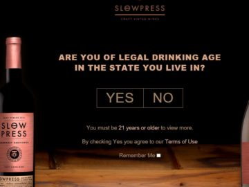 The Slow Press Wines Rocky Mountain Getaway Sweepstakes