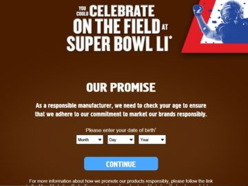 The SNICKERS Brand Celebrate on the Field Game Sweepstakes