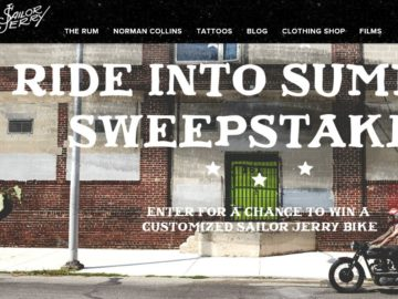 "The Sailor Jerry ""Ride into Summer"" Sweepstakes – Select States"