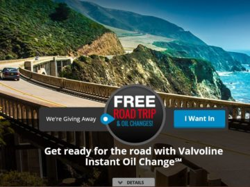 To celebrate 150 years of Valvoline Sweepstakes