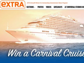 Extra Carnival Cruise Sweepstakes