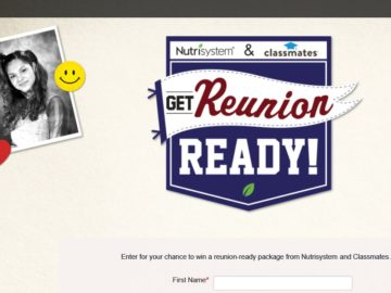 The NutriSystem Get Reunion Ready! Sweepstakes