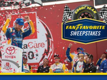 "The Goodyear ""Fan Favorite"" Sweepstakes"