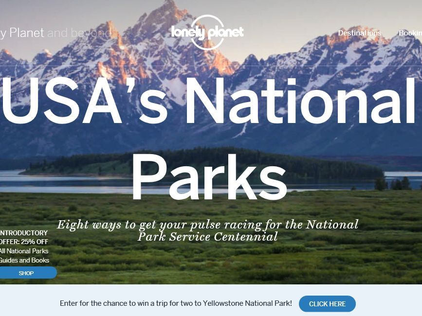 Lonely Planet National Parks Sweepstakes