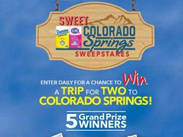 Domino Sugar and C&H Sugar Sweet Colorado Springs Sweepstakes – Select States