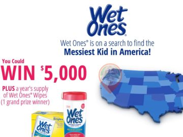 The Wet Ones The Messiest Kid in America Contest