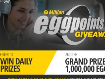 The 1 Million EggPoints Giveaway Sweepstakes