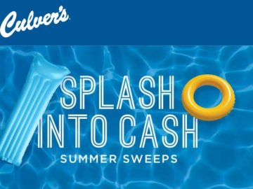 Pepsi/Culver's Splash Into Cash Sweepstakes – Select States