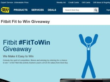 Best Buy #FitTown Sweepstakes