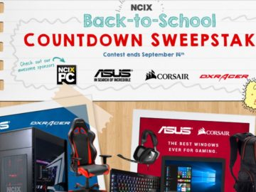 The Back to School COUNTDOWN Sweepstakes