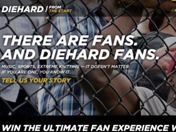 The Sears DieHard Fan Contest