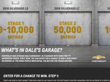 The 2016 Chevy Silverado Sweepstakes