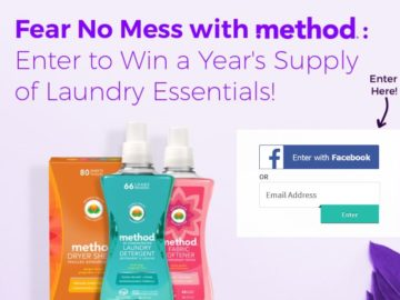 The Jet.com Fear No Mess Giveaway Sweepstakes