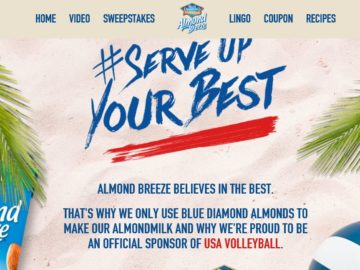 The Almond Breeze 'Serve up Your Best' Sweepstakes