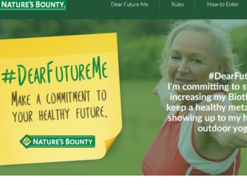 Nature's Bounty Dear Future Me 2016 Sweepstakes