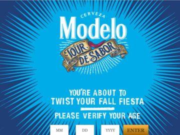 The Modelo Fall Tour de Sabor Sweepstakes