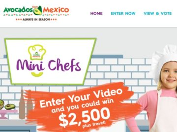 Avocados From Mexico Mini Chefs Contest