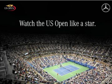 The Mercedes – Benz US Open Sweepstakes