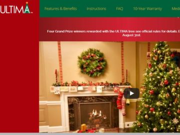 ULTIMA Christmas in August Sweepstakes