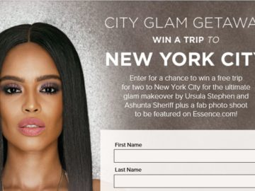 The Essence City Glam Getaway Giveaway Sweepstakes