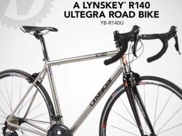 The Nashbar Lynskey R140 Ultegra Road Bike Giveaway Sweepstakes