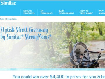 Stylish Stroll Giveaway by Similac StrongMoms Sweepstakes