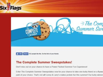 The Six Flags Complete Summer Sweepstakes