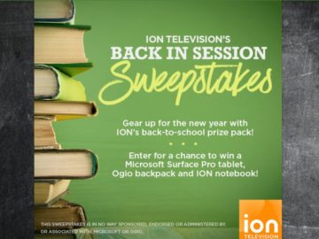 ION Television's Back In Session Sweepstakes