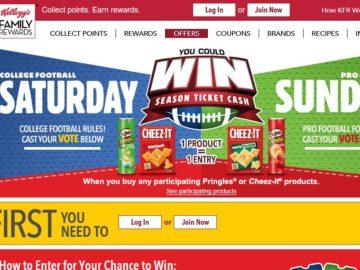 The Kellogg's Saturday vs. Sunday Sweepstakes
