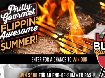 Philly Gourmet Last Blast Sweepstakes