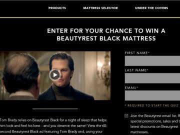 The Beautyrest Dream In Black Sweepstakes