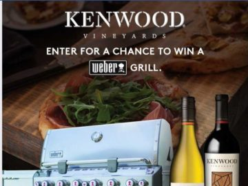 The Kenwood Vineyards Weber Grill Sweepstakes