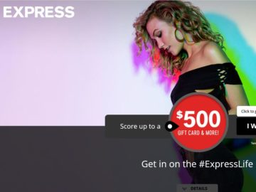 The Express #EXPRESSLIFE Giveaway Sweepstakes