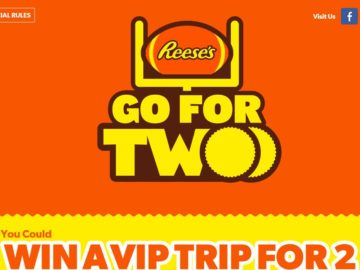 """Reese's """"Go for Two"""" Sweepstakes"""