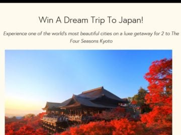 The Zoe Report Win A Dream Trip To Kyoto, Japan Sweepstakes