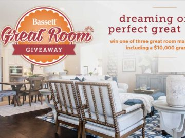 "The Bassett ""Great Room"" Giveaway Sweepstakes"