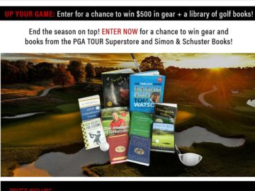 The PGA PLAYOFFS Sweepstakes