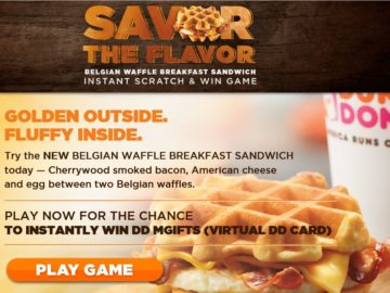 The Savor The Flavor Instant Win Game & Sweepstakes