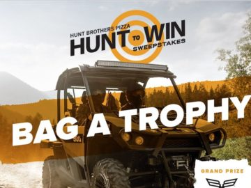 "Hunt Brothers Pizza ""Hunt to Win"" Sweepstakes"