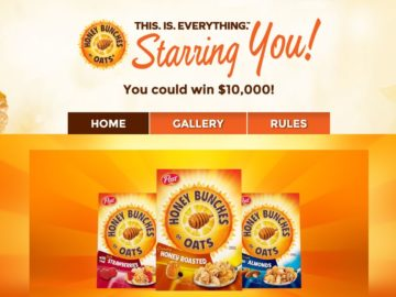 Honey Bunches of Oats THIS. IS. EVERYTHING.: Starring You Sweepstakes