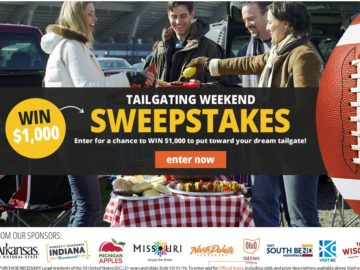 Midwest Living Tailgating Weekend Sweepstakes