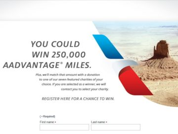 The American Airlines Flying Kind Sweepstakes