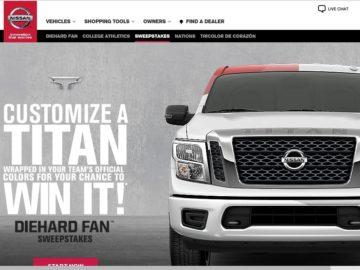 Nissan's Diehard Fan Sweepstakes
