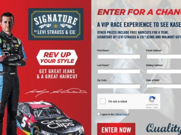 Levi Strauss & Co. Signature + Great Clips Sweepstakes