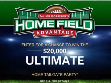 Taylor Morrison, Inc. Home Field Advantage Sweepstakes